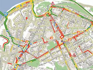 Пробки на дорогах Нижнем Новгороде, веб-камеры
